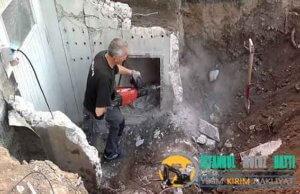 Arnavutköy Duvar Beton yıkım kırım ustası harfiyat firması