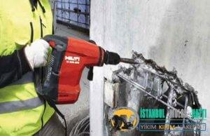 Ataşehir Duvar Beton yıkım kırım ustası harfiyat firması