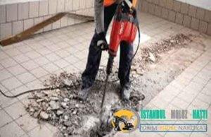 istanbul Duvar Beton yıkım kırım ustası harfiyat firması