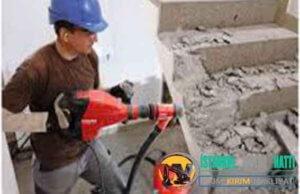 Kadıköy Duvar Beton yıkım kırım ustası harfiyat firması