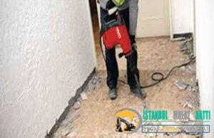 Kağıthane Duvar Beton yıkım kırım ustası harfiyat firması