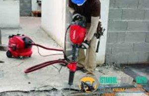 Ümraniye Duvar Beton yıkım kırım ustası harfiyat firması