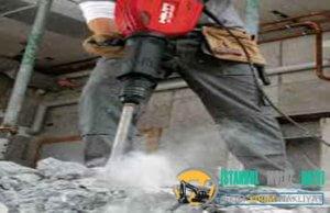 Üsküdar Duvar Beton yıkım kırım ustası harfiyat firması