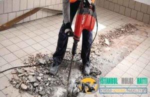Zeytinburnu Duvar Beton yıkım kırım ustası harfiyat firması